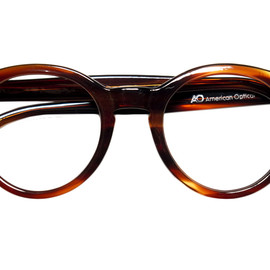 AMERICAN OPTICAL - 1960s AMERICAN OPTICAL BOSTON AMBER