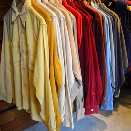 Used - Open Collared Corduroy Shirts