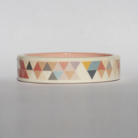 Big Frank Printed Porcelain Bangle