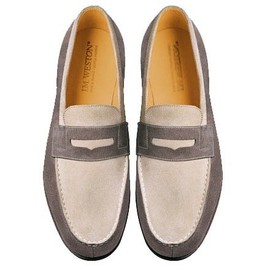 "J.M. Weston - x Kitsuné ""East Hampton"" SS2011 Loafer"