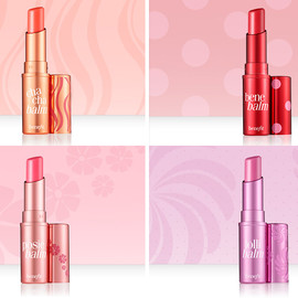 benefit - Hydrating Tinted Lip Balms