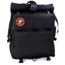 Freight Baggage - Rolltop - Black