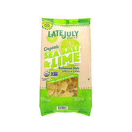 Late july - Organic Tortilla Chips -Sea Salt & Lime-