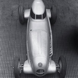 Mercedes-Benz - Record-breaking version of the  W 25 racing car