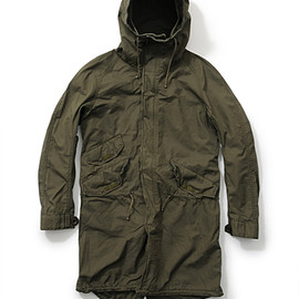nonnative - BRITISH RIPSTOP STORM COAT
