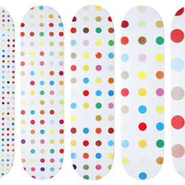 Supreme - Damien Hirst for Supreme Skate Decks
