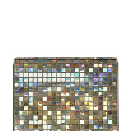 Maison Martin Margiela - FW2014 IRIDESCENT MIRROR TILES & LEATHER CLUTCH