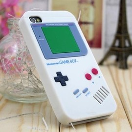 hallomall - Retro Nintendo Gameboy Luck Cases and Covers for iPhone 4/4s