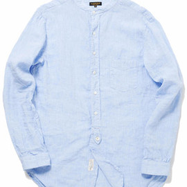 A VONTADE - Banded Collar Shirts