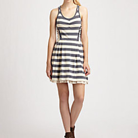 MARC BY MARC JACOBS - Rapture Stripe Jersey Dress