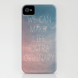 Society6 - Extraordinary I iPhone Case
