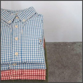 Jackman - Baseball shirt gingham check