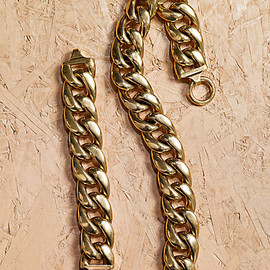 CELINE - CHAINS LARGE BRACELET & NECKLACE