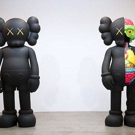 Kaws - 'Hold The Line' Exhibition at Honor Fraser Gallery - Recap