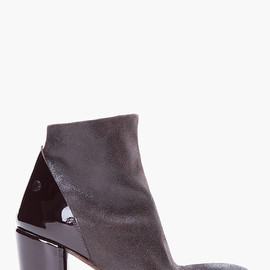 MARSELL - Sparkly Black Ankle Boots