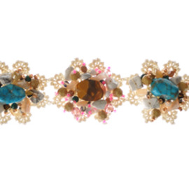 Emma Cassi -  Turquoise and pink bracelet