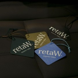 retaW - Fragrance Car Tag