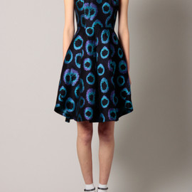 G.V.G.V. - RING JAQUARD DRESS