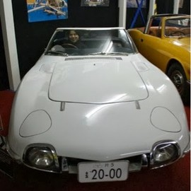 TOYOTA - 007 bond car 2000GT