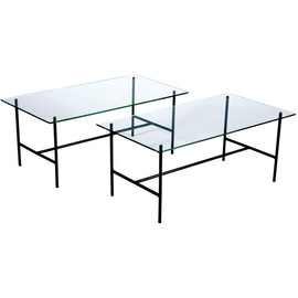 Pierre Guariche for Steiner - Enameled Wrought Iron Coffee Tables