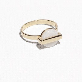 & Other Stories - Petite Medallion Ring
