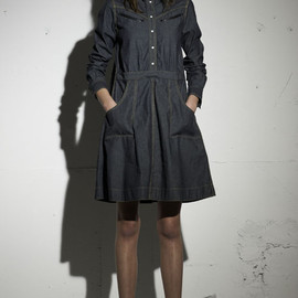 sacai luck - 2013a/w one-piece
