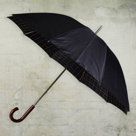 FRED PERRY - Double Sided Tartan Umbrella