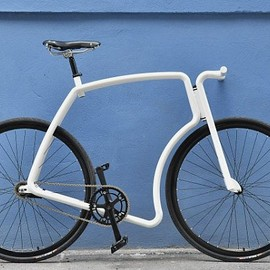"""Raw"" STEEL URBAN BICYCLE"