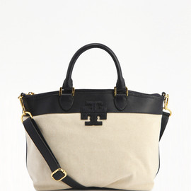 TORY BURCH - stacked T SMALL SATCHEL