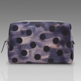 Paul Smith - Waterbleed Ink Polka Marina Make-Up Bag
