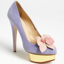 Charlotte Olympia - 'Dolly' Pump LAVENDER