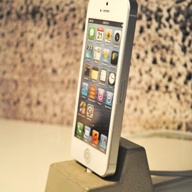fmcdesign - Concrete iphone  Docking Station