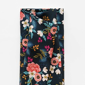 Rifle Paper Co. - Cotton + Steel - Birch Floral - Screen Printed Rayon Fabric