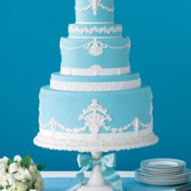 classically designed cake's