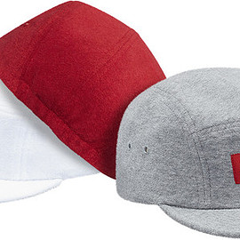 Supreme - Fitted Terry Camp Cap
