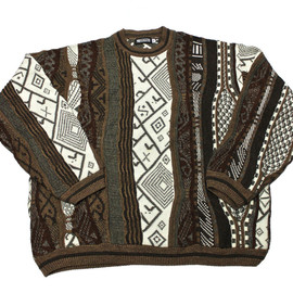 VINTAGE - Vintage 90s Coogi Style Acrylic Sweater Made in USA Mens Size XXL