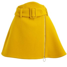 CARVEN - A-Line Wool Skirt