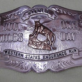 Western States Endurance Run - The Silver Buckle (sub-24 hour finisher buckle)