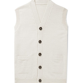 Connolly - + Goodwood Wool and Cashmere-Blend Sweater Vest