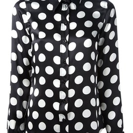 MOSCHINO - polka dot blouse