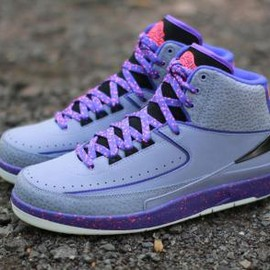 Nike - NIKE AIR JORDAN 2 RETRO IRON PURPLE/INFRARED 23-DARK CONCORD