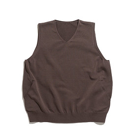 crepuscule - Wholegarment Vest-Brown