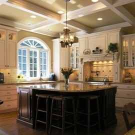 Formal kitchen
