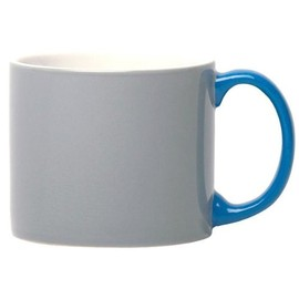 Jansen + Co - My Mug Grey, blue handle