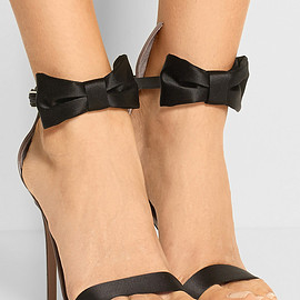 Gianvito Rossi - Satin and patent-leather sandals