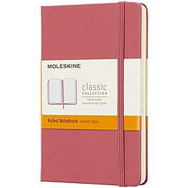 MOLESKINE - Classic Notebook Hardcover Pocket Ruled Daisy Pink