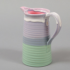 Peter Shire - Tri-dipped Pitcher
