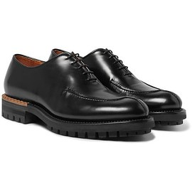 Berluti - Glazed Leather Oxford Shoes