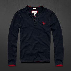 Abercrombie & Fitch - Lake Placid Henley