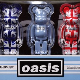 MEDICOM TOY - OASIS BE@RBRICK -3 PCS SET-